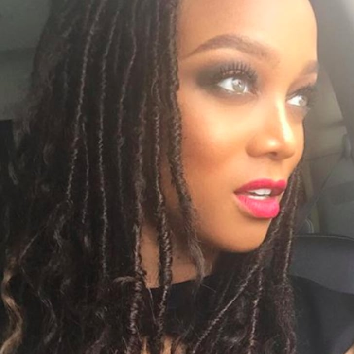 Tyra Banks With Faux Locks