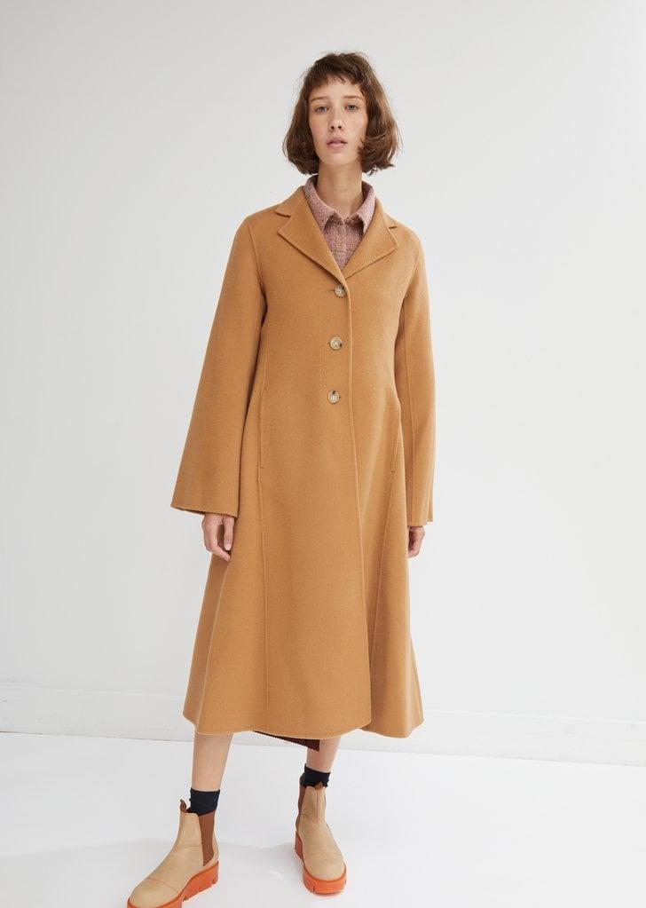 A Classic Camel Coat