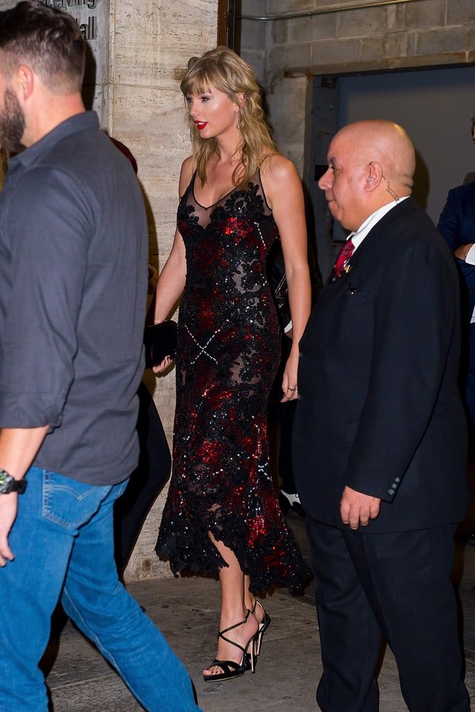 Taylor Swift's Dress at The Favourite Showing With Joe Alwyn