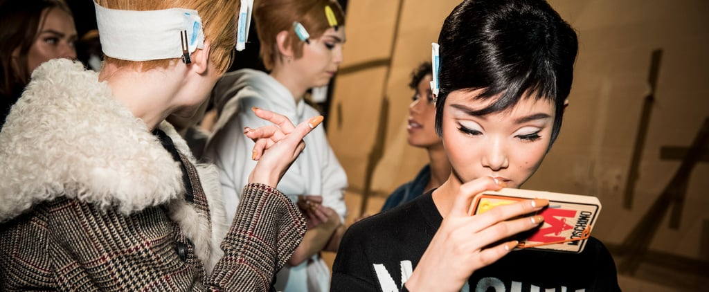 See the Stunning Sparkly Nail Trends From Milan Fashion Week