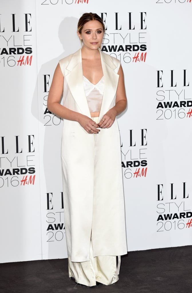 Elizabeth Showed Just a Hint of Skin at The 2016 Elle Style Awards