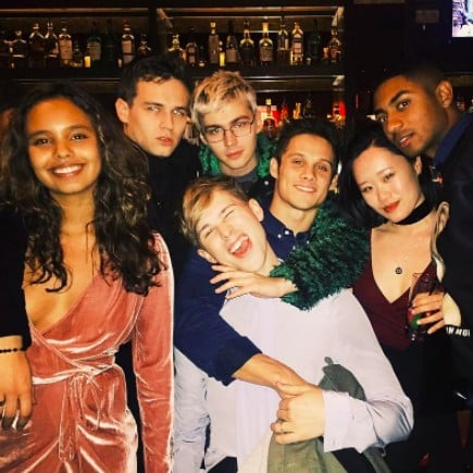 Pictures of the 13 Reasons Why Cast Together