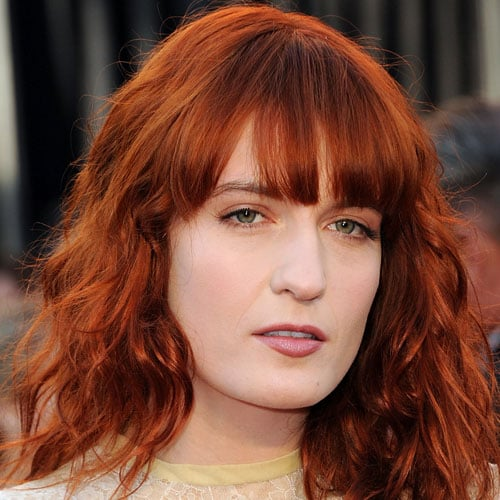 Florence Welch 2011 Oscars Makeup Trends And Tutorials