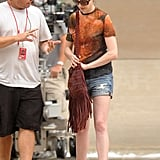 Anne Hathaway Spotted on Set of The Dark Knight Rises as Batman Battles Bane