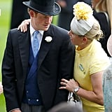 Prince Harry and Zara Phillips, 2015