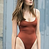 Keep it simple in the natural-toned Bona Drag Alix Sienna Delano One-Piece ($198)