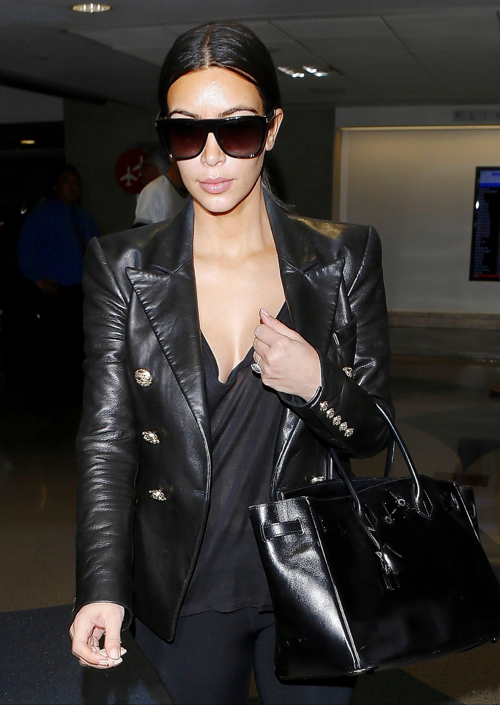 Kim Kardashian Wraps Up Her Honeymoon — but Where's Kanye West?