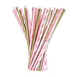100 Paper Drinking Straws ($9)
