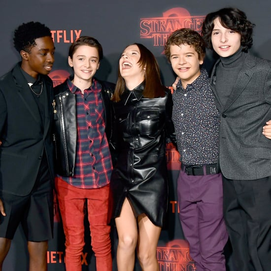 Stranger Things Cast on Instagram and Twitter