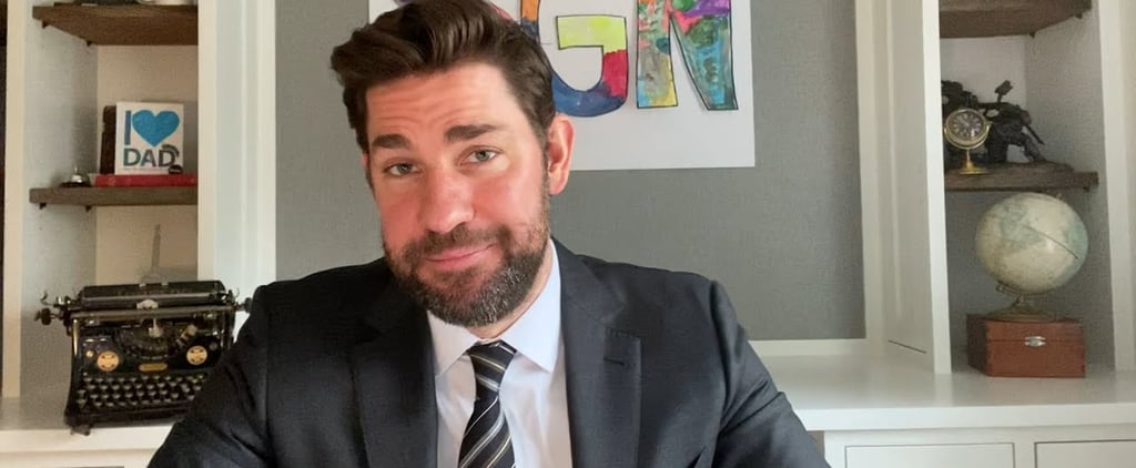 "John Krasinski ""Some Good News"" Video With Steve Carell"
