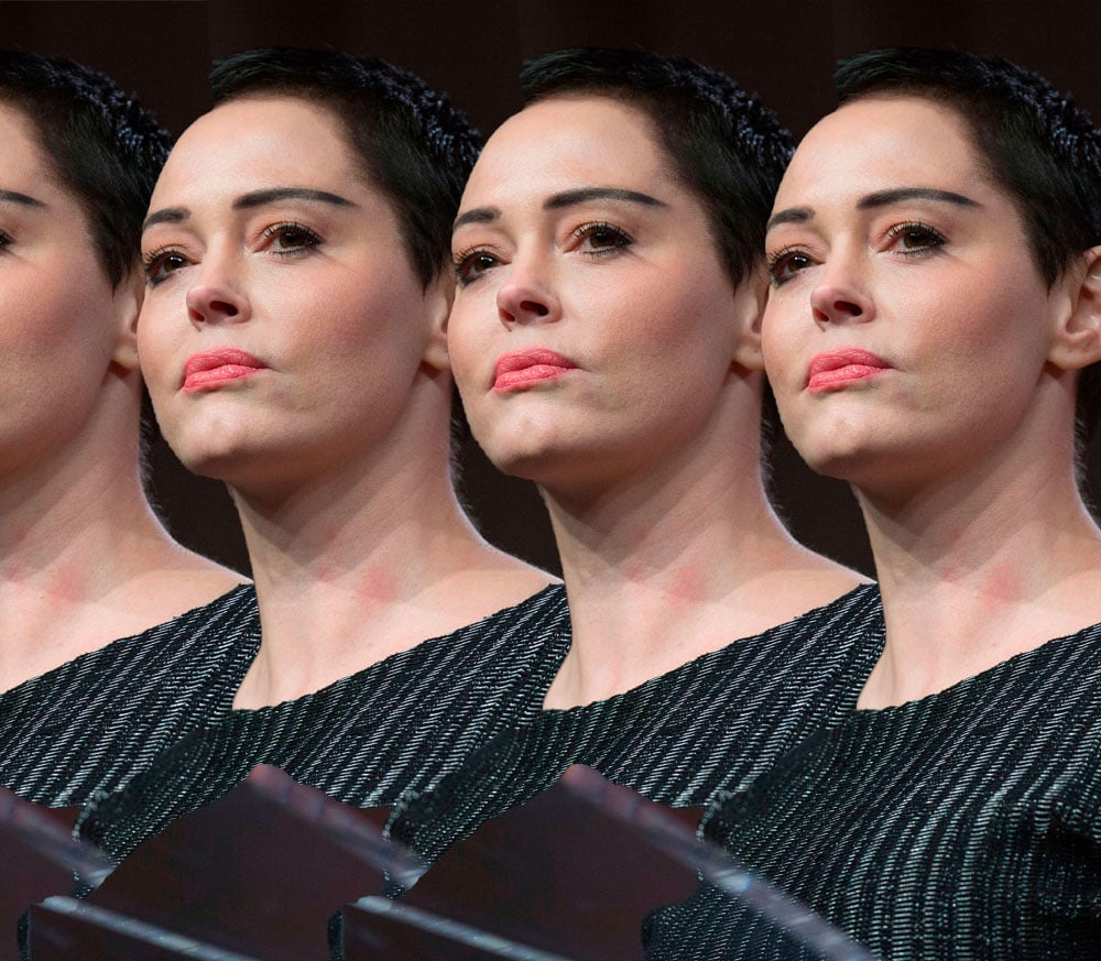Harvey Weinstein dismisses Rose McGowan's sexual assault allegations as a 'bold lie'