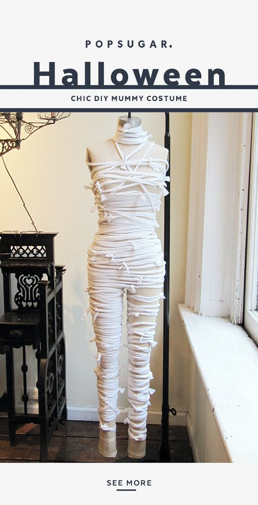 This Mummy DIY Is the Cool, Last-Minute Costume You've Been Waiting For