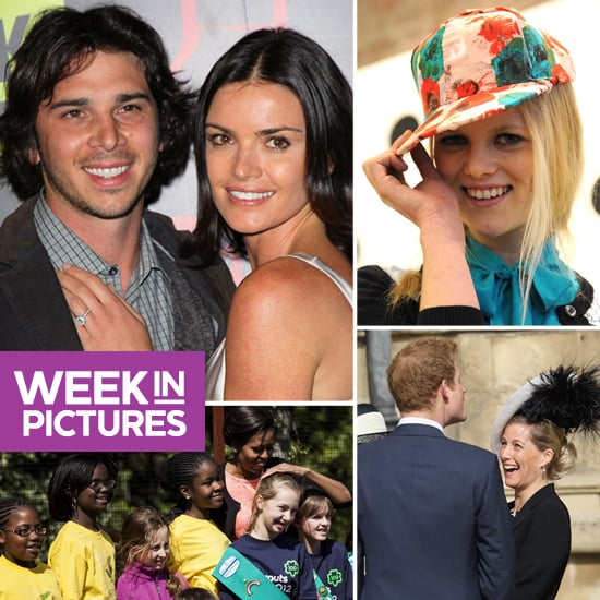 Courtney and Ben Step Out in LA, Prince Harry Makes Everyone Laugh, and the First Lady Gardens With Girl Scouts
