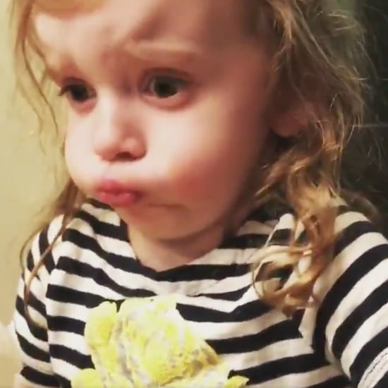 Viral Video of Girl Pretending to Like Her Mom's Spaghetti