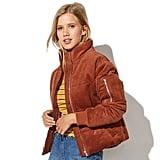 Vylette Corduroy Puffer Jacket
