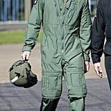 When William Wore His Air Force Uniform