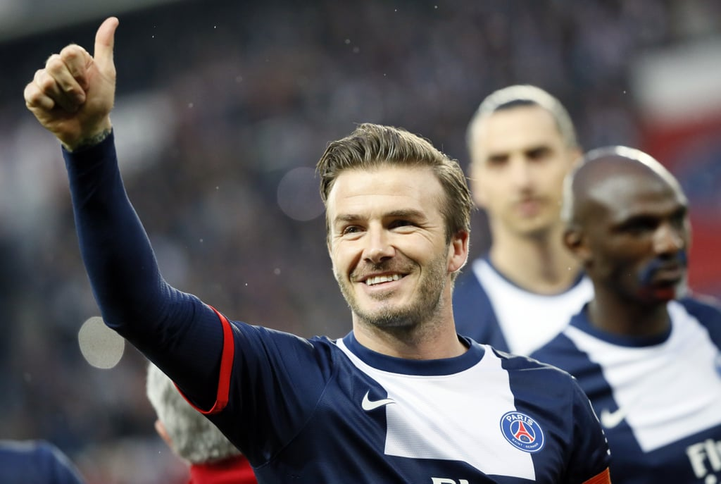 See David Beckham's Emotional Final Home Game!