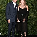 Tom Hanks and Rita Wilson at MOMA Film Benefit 2016