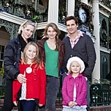 Peter Facinelli took then-wife Jennie Garth and their daughters, Lola, Luca, and Fiona, to Disneyland in December 2011.