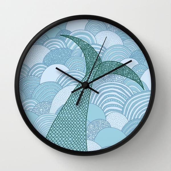 Mermaid Wall Clock ($30)