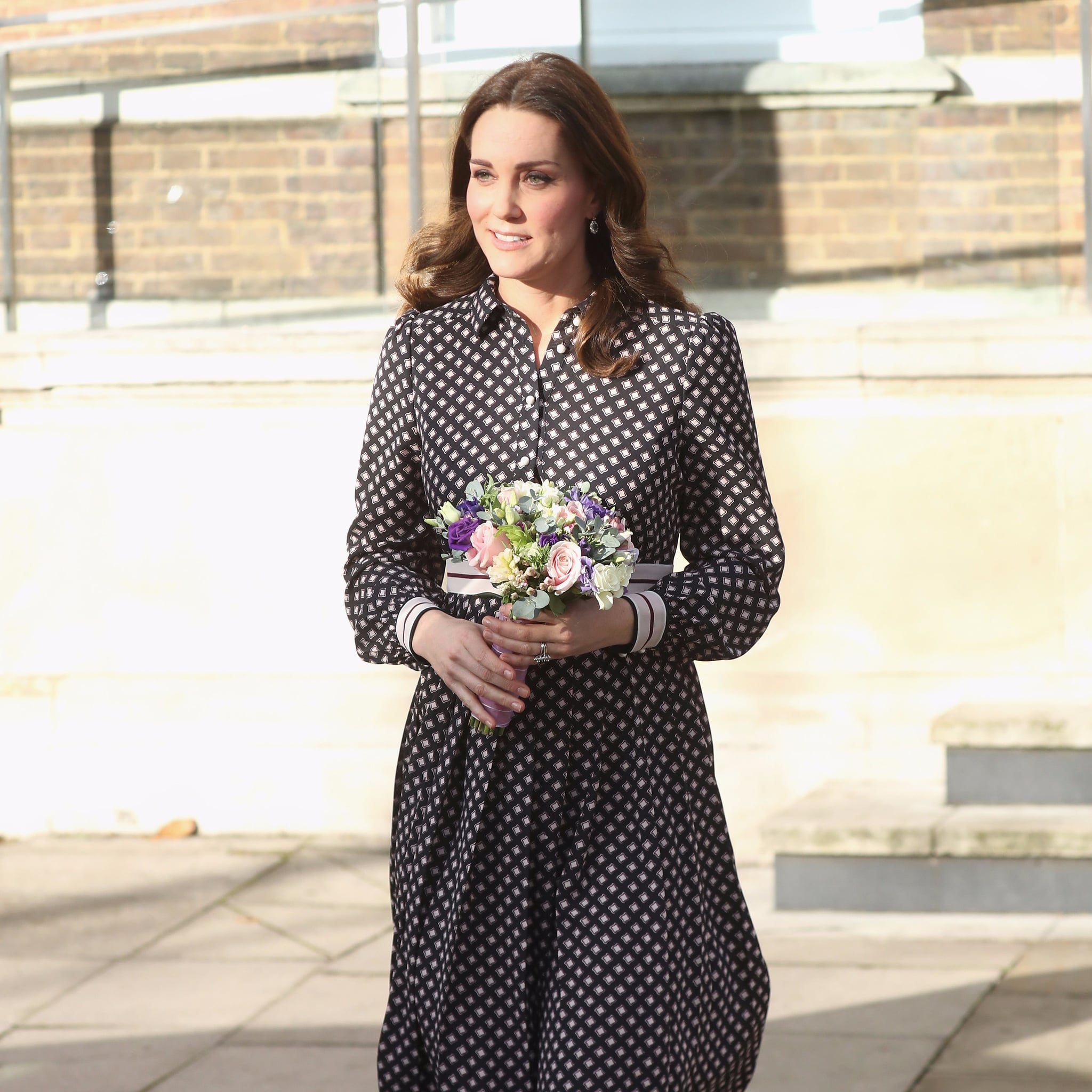 Kate middleton wearing kate spade dress popsugar fashion ombrellifo Gallery