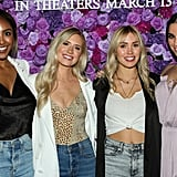 Tayshia Adams, Lauren Luyendyk, Cassie Randolph, and Ashley Iaconetti at I Still Believe Screening