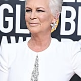 Jamie Lee Curtis Hair at the Golden Globes 2019