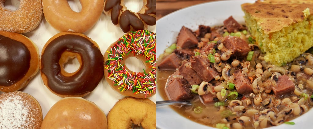 International New Year Food Traditions
