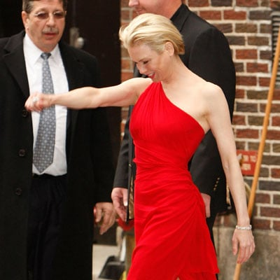 Renee Zellweger Leaving The Late Show