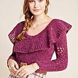 Gemma Ruffled Sweater