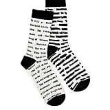 Banned Book Socks ($10)