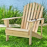 Hampton Bay Unfinished Stationary Wood Outdoor Adirondack Chair (2-Pack)