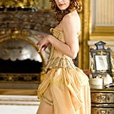 Milla Jovovich as M'lady De Winter in The Three Musketeers.