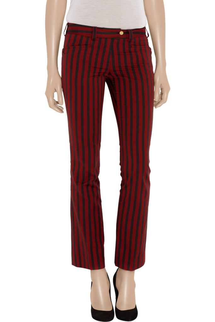 Get on Spring's stripe trend with these supercool Tory Burch Buddy striped cropped cotton pants ($99, originally $300).