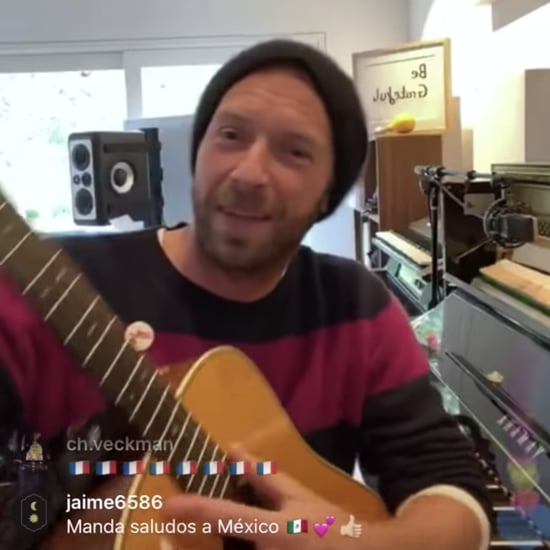 Watch Chris Martin's #TogetherAtHome Instagram Concert Video