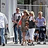 Photos of Heidi Klum and Her Kids