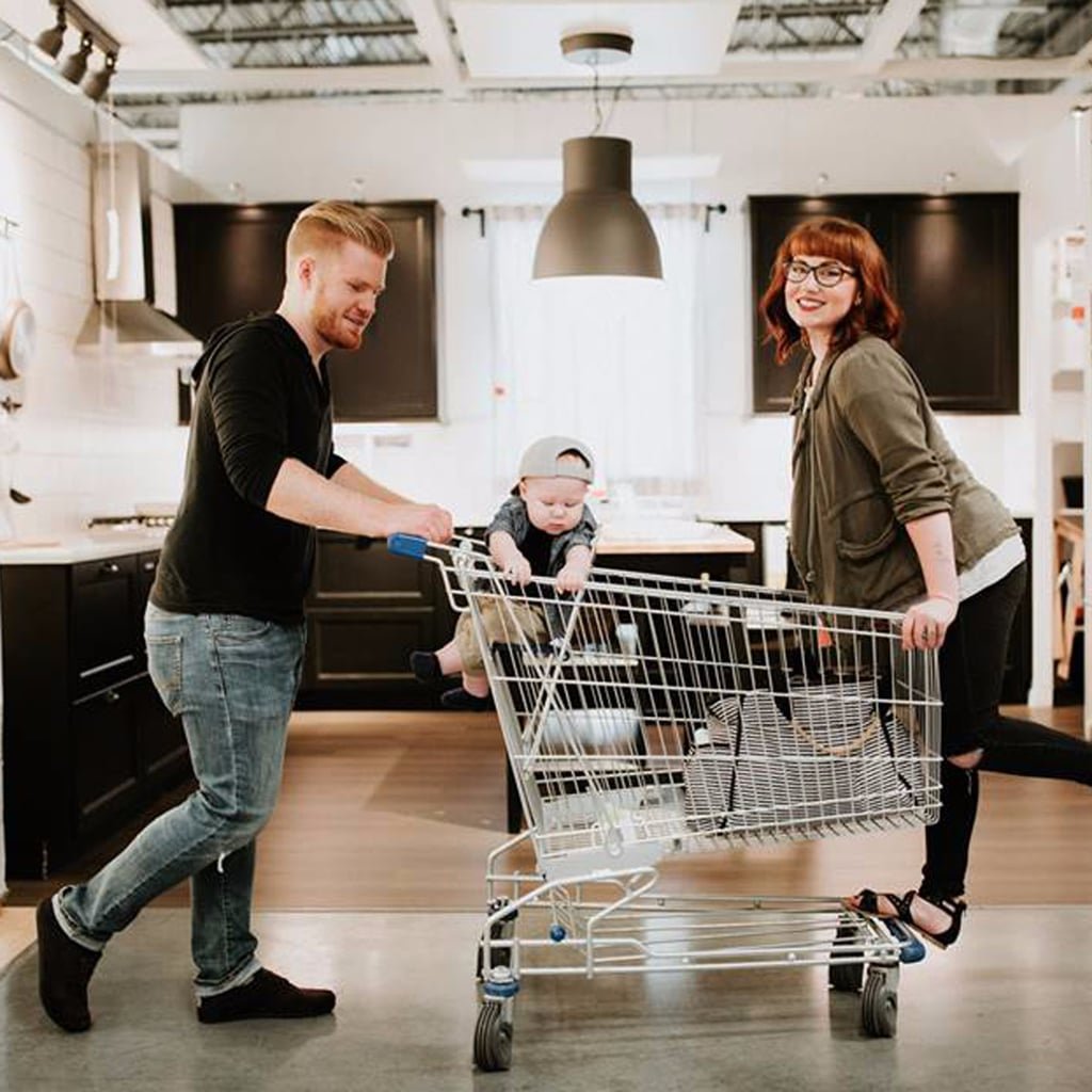How Creative Is This Family Photo Shoot in Ikea?