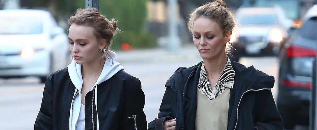 Vanessa Paradis Does Some Shopping With Her Look-Alike Daughter, Lily-Rose Depp