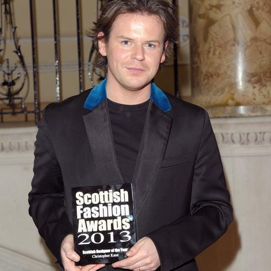 Christopher Kane Wins Scottish Fashion Award 2013