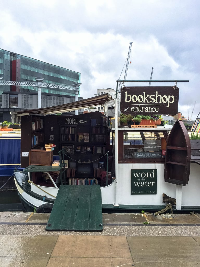 Discover second-hand treasures at the city's only floating bookshop.