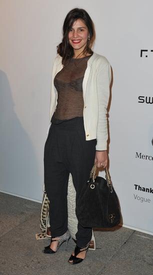 Margherita Missoni Wears Sheer at Milan Fashion Week