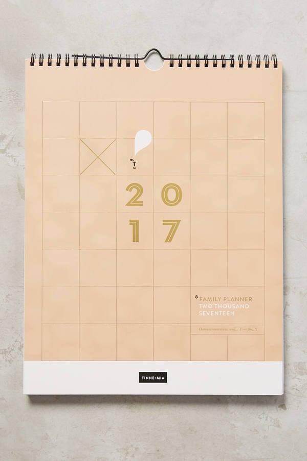 2017 Planner