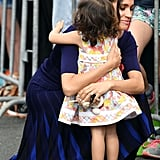 Meghan Markle Hugging Little Girl in New Zealand 2018