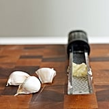 Quickly mince garlic using a microplane.