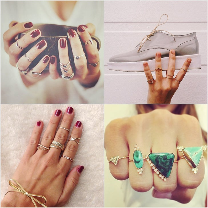 How To Style Your Rings Like A Pro Popsugar Fashion