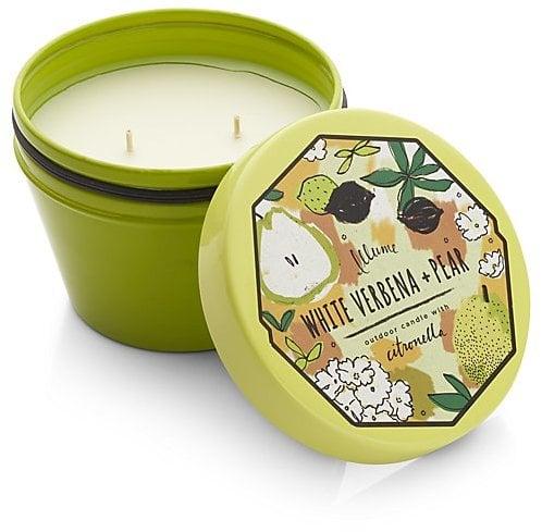 White Verbena Citronella Candle ($25)
