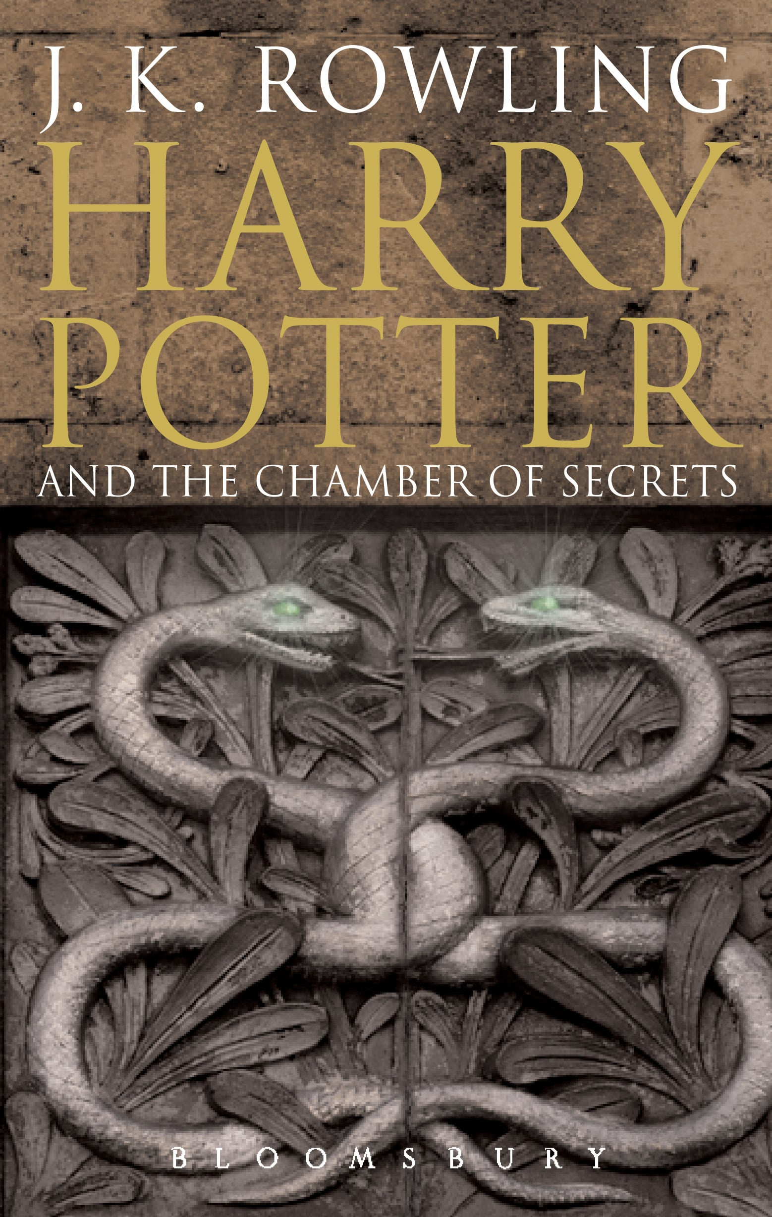 Harry Potter and the Chamber of Secrets, UK Adult
