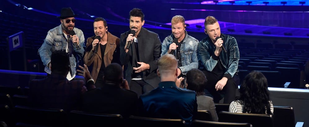 "Backstreet Boys and Pentatonix ""Winter Wonderland"" Video"