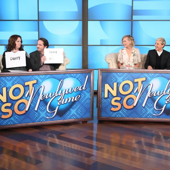 Melissa McCarthy and Ellen DeGeneres Battle It Out With Their Spouses in the Not-So-Newlywed Game