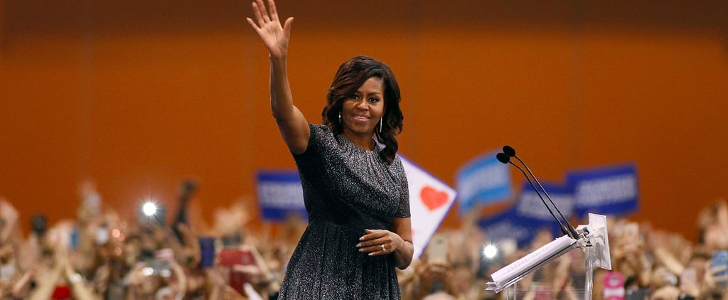 Michelle Obama's Campaign Dress Won't Fade From Your Mind Till You're Wearing It